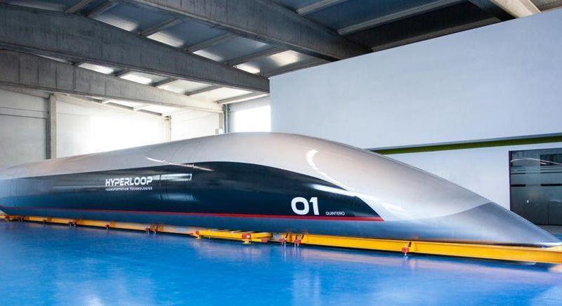 Alta velocità, due tratte in Italia per il treno supersonico Hyperloop